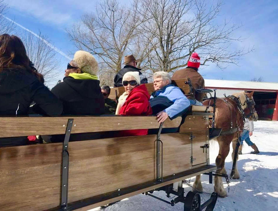 A Sleigh Ride to Finish Rose's Bucket List Image