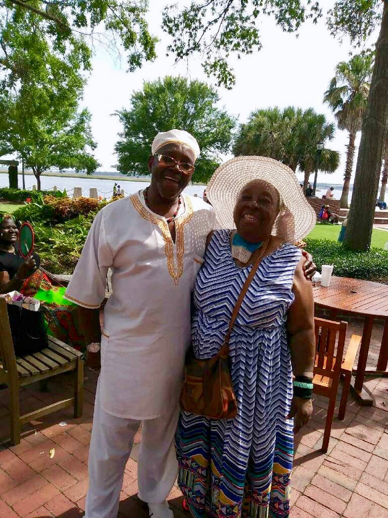 Annie attends the Gullah Heritage Festival