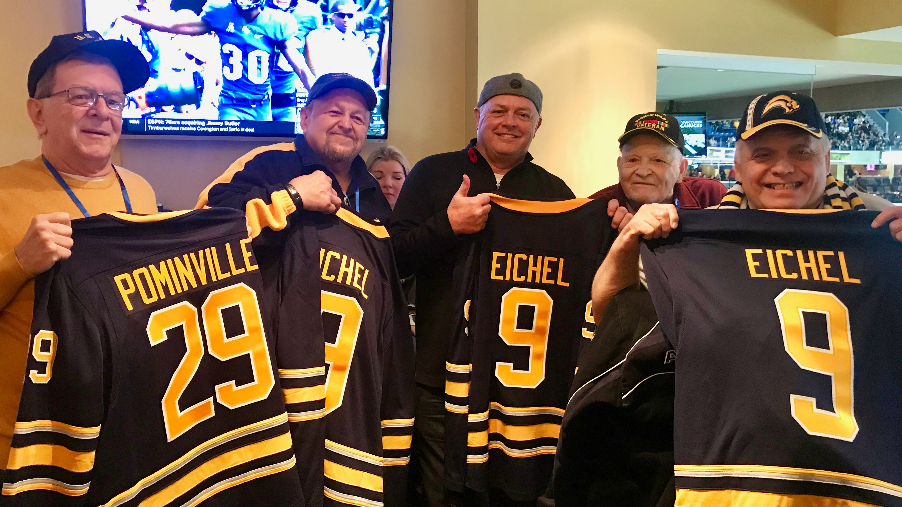 A Week of Veteran's Wishes includes a Sabres Game! Image