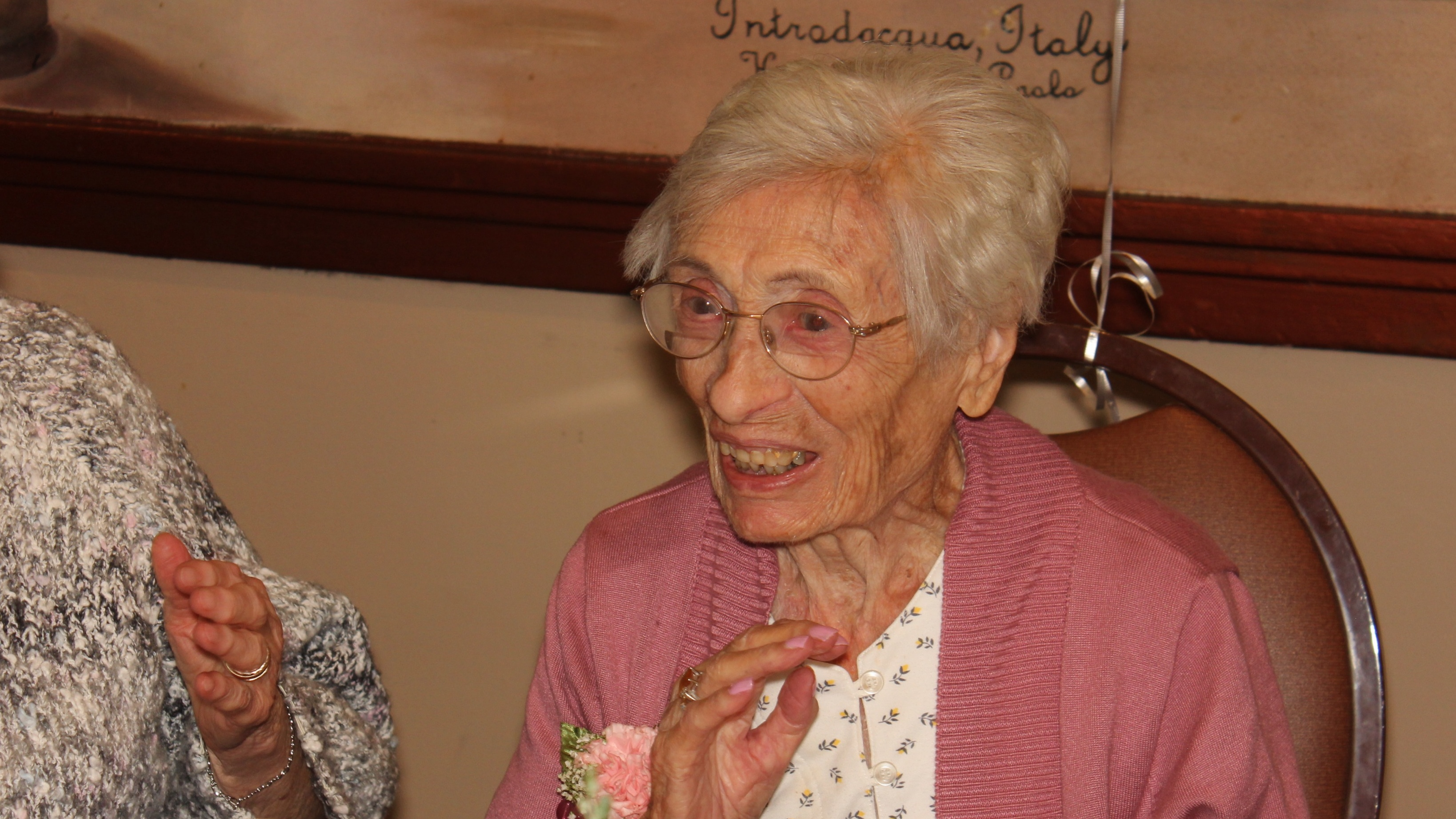 A Wish Granted to 109 year old Catherine! Image