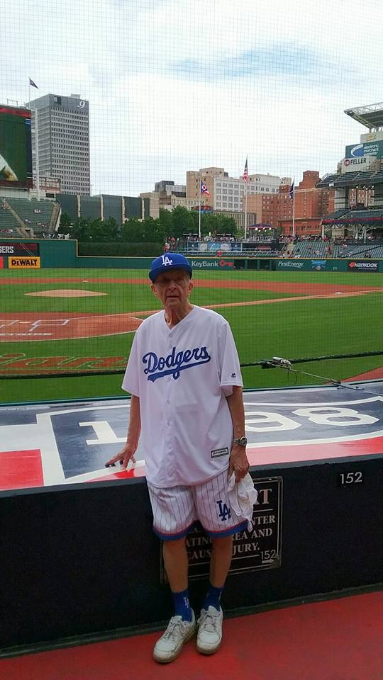 WWII Vet Marco Sees His Beloved Dodgers Play Image
