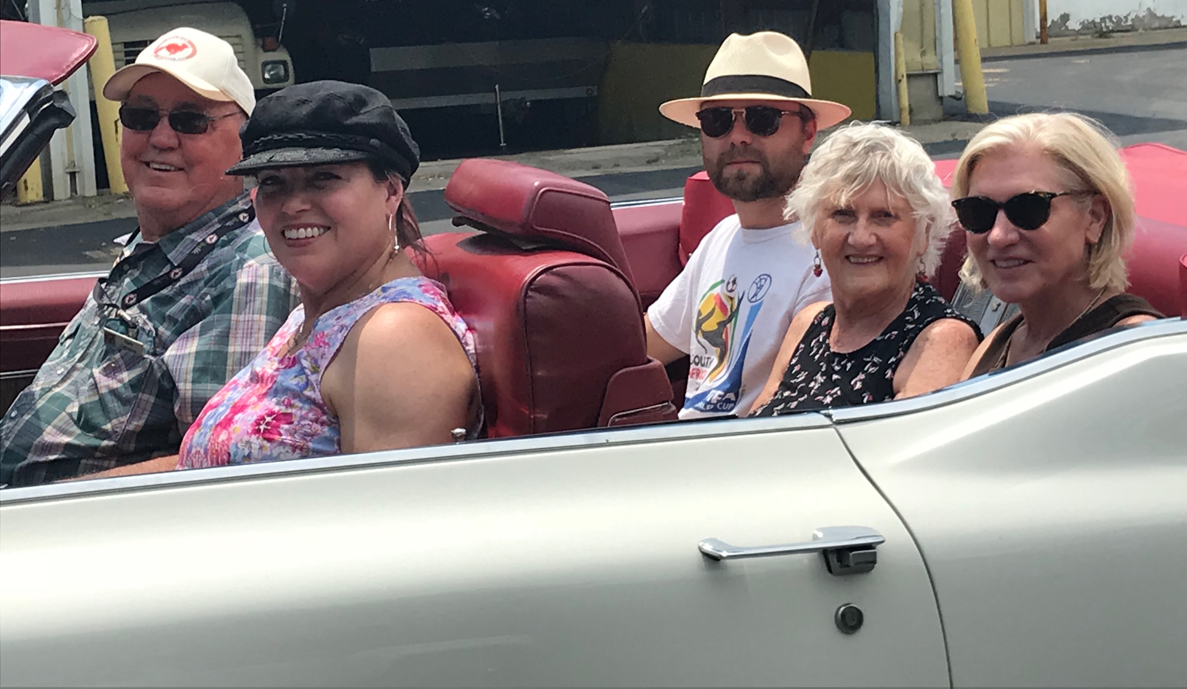 Senior Wishes Grants 150th Wish with a Vintage  Car Ride!