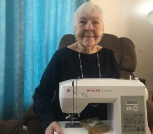 A  New Sewing Machine for Helen Image