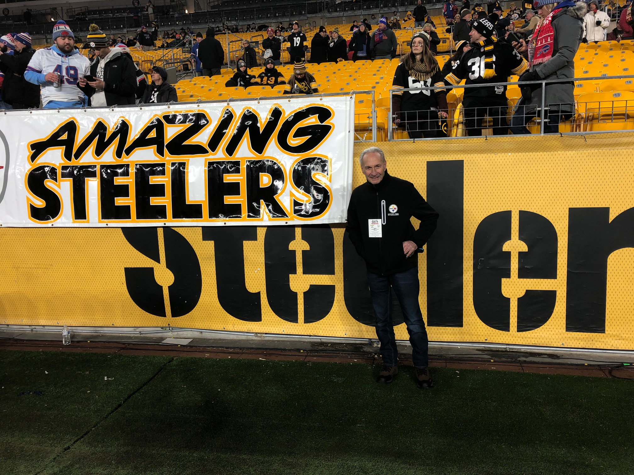 A Wish to go to my first Pittsburgh Steelers game Image