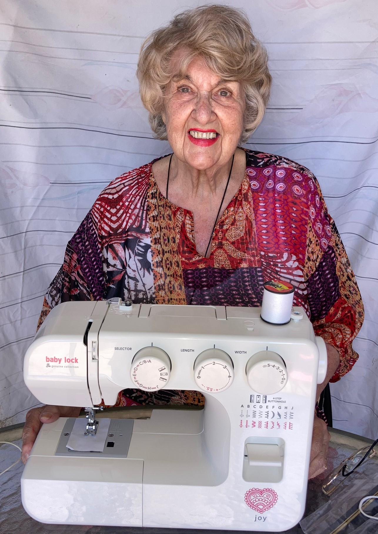 A Wish for a New Sewing Machine Image